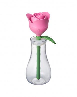 ピンク スティック加湿器 バラを見る