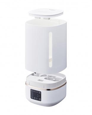 ホワイト 大容量 超音波加湿器を見る