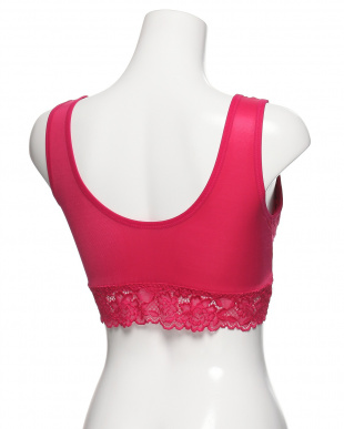 ローズピンク ふんわり美胸のプリンセスナイトブラを見る