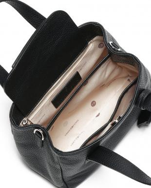 ブラック NEW YORK レザー 2wayミニトートバッグを見る