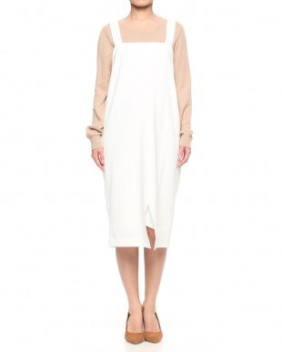 90/無彩色A(ホワイト) ジャンパースカートを見る