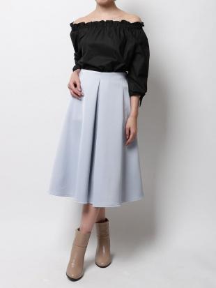 アイスブルー サテンボンディングスカート MERCURYDUOを見る