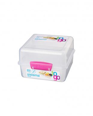 トゥゴーランチキューブ(1.4L)ピンク 6pcsセットを見る
