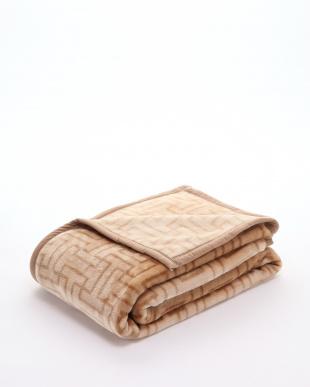 ブラウン ニューマイヤー毛布を見る