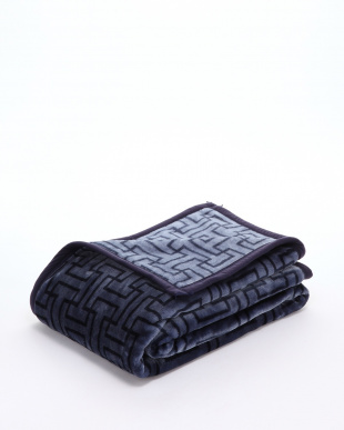 ネイビー ニューマイヤー毛布を見る
