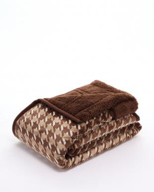 ブラウン 衿付毛布を見る