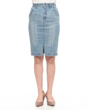 ブリーチ ベーシックデニムタイトスカートを見る