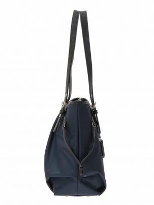ネイビー デザインポケットトートバッグ MK MICHEL KLEIN BAGを見る
