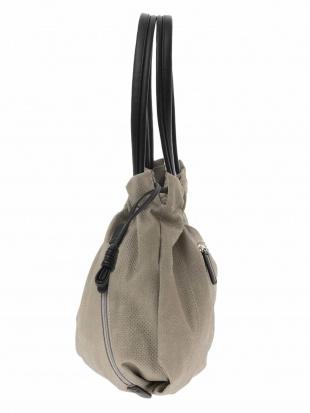 ライトグレー デニムライクパンチングトートバッグ MK MICHEL KLEIN BAGを見る