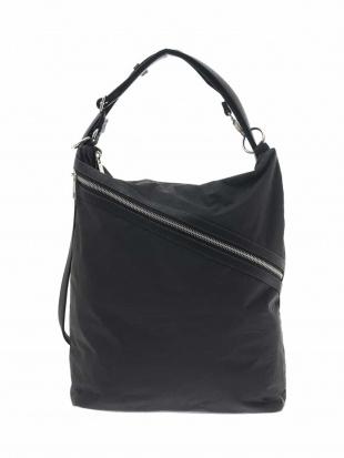 ブラック 【3WAY】ファスナーデザインバックパック MK MICHEL KLEIN BAGを見る