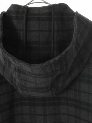 ダークグレー ショートダッフルジャケット[WEB限定サイズ] a.v.vを見る