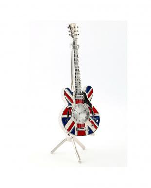 マルチ ユニオンジャックギター ミニチュアクロックを見る