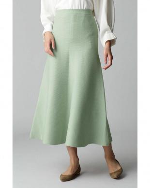 グリーン5 ロングフレアースカート アナディスを見る