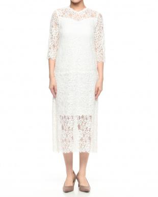 ホワイト  Cord Lace Dressを見る