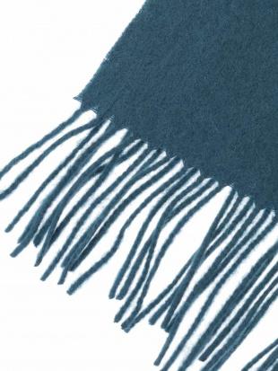 ブラック カシミア混マフラー a.v.v HOMMEを見る