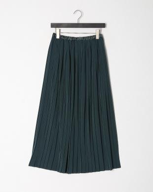 グリーン プリーツスカートを見る
