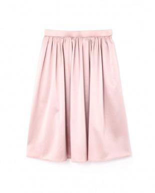 ピンク3  トリアセエンボススカート NATURAL BEAUTYを見る