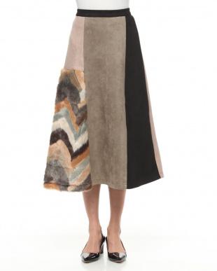 ブラウン スカートを見る