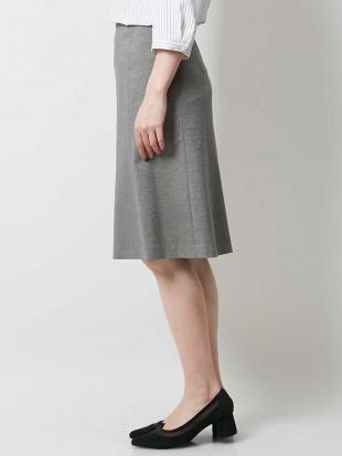 ダークグレー 【セットアップ対応/洗える】ライトポンチスカート OFUONを見る
