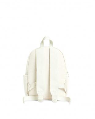 ホワイト1 MINI KANE COTTON CANVAS WHITE(バックパック) ステイトバッグズを見る