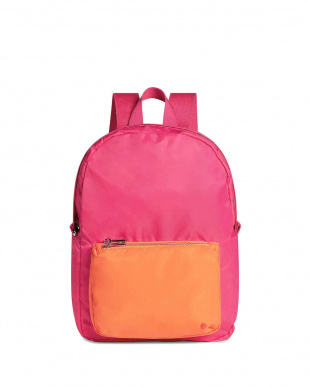 ピンク MINI LORIMER ORANGE BLOSSOM(バックパック) ステイトバッグズを見る