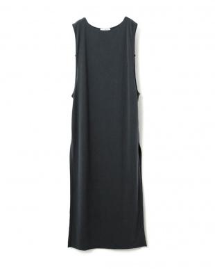ブラック SLIT CUT DRESSを見る