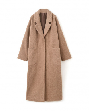 ベージュ WOOL BLEND OVER COATを見る