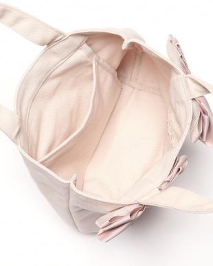 ベージュピンク  pink trick ツインリボンサブバッグBPを見る