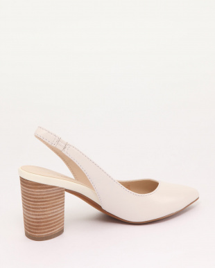 CADEE PUMP (85MM):IVORY LEATHEを見る