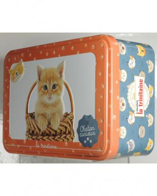 ラ・トリニテーヌ クッキー詰め合わせ アニマル缶/キャッツ・オレンジを見る