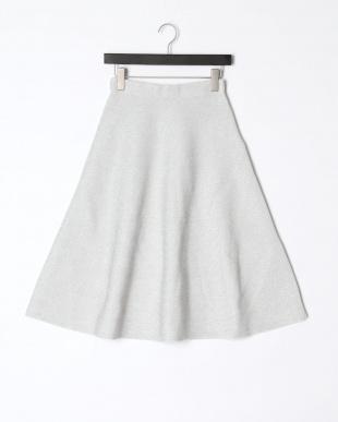 シルバー ラメフレアースカートを見る