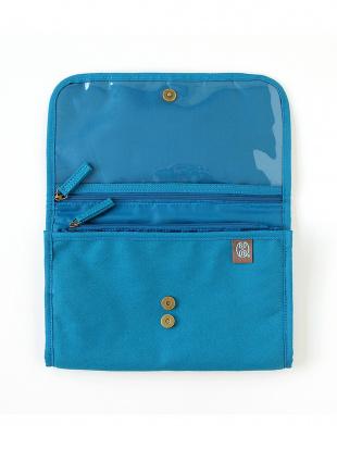 ブルー BOBO 母子手帳ケースを見る