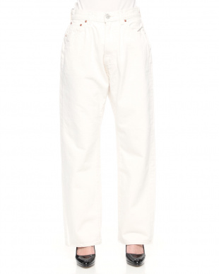 WHITE HIGHT WAIST DENIM PAを見る