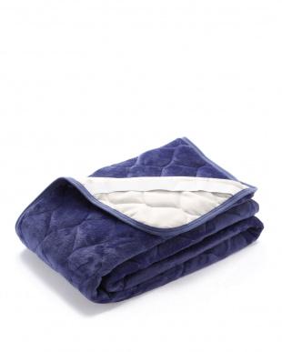 ブルー フランネルパッドシーツ(蓄熱綿入り) SDを見る