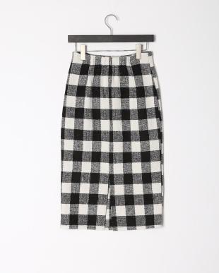 BIGBLACK チェックタイトスカートを見る