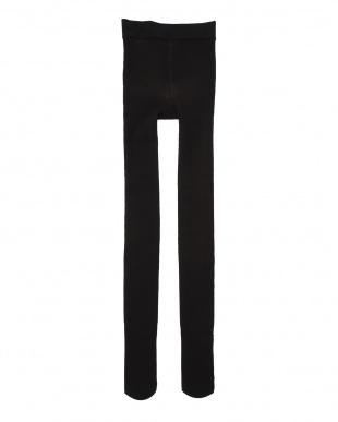 ブラック 素肌が透けるような あったかタイツ2足セットを見る