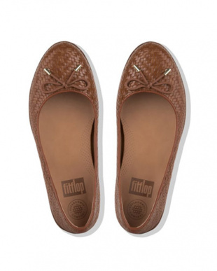 COGNAC SUPERCHIC BALLERINAS - WOVEN LEATHERを見る