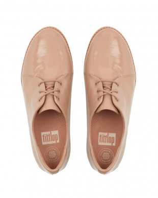 Taupe DERBY CRINKLE PATENTを見る