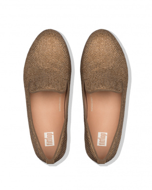 Bronze AUDREY SHIMMERCRYSTALLOAFERSを見る