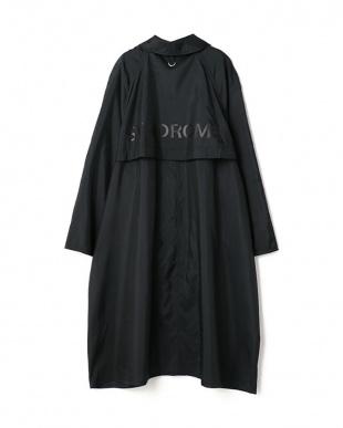 黒 ビッグステンカラーコートを見る