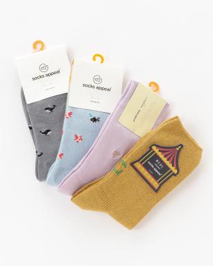 MULTI 福袋 socks appeal ソックス4点セットを見る