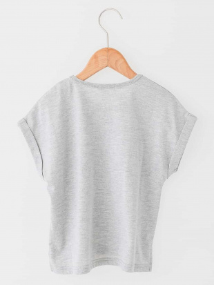 ホワイト [100-130]ロゴ刺繍カットソー[WEB限定サイズ] a.v.v bout de chouを見る