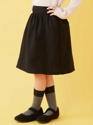 ブラック [100-130]サス付きナロースカート[WEB限定サイズ] a.v.v bout de chouを見る