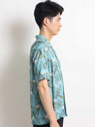 ネイビー アロハガラプリントオープンカラーシャツ[WEB限定サイズ] a.v.v HOMMEを見る