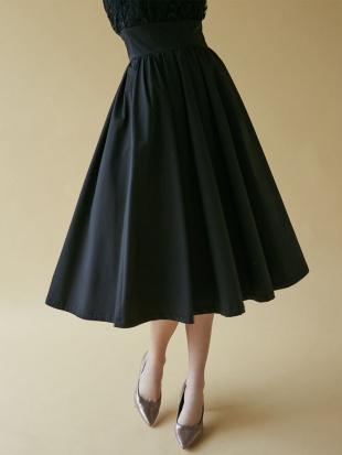 ライトグレー LADYオーバーレースギャザードレス LAGUNAMOONを見る