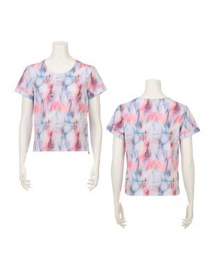 ミックス AMSTSP03 Top3 JX  アモアクティブ バイ トリンプ シアーレイヤー ルーズフィットTシャツを見る
