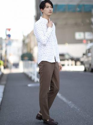 ホワイト オリジナルプリントキモウシャツ[WEB限定サイズ] a.v.v HOMMEを見る