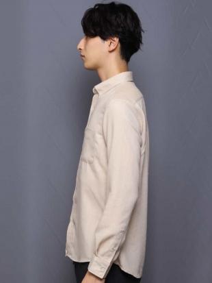 ベージュ 【蓄熱保温】サンライトキモウシャツ[WEB限定サイズ] a.v.v HOMMEを見る