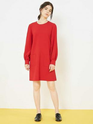 レッド 【メディア着用】定番 TOILE DOUBLE ドレス TARA JARMONを見る