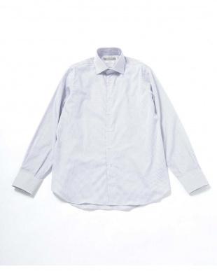 サックス5 RG グラフチェックセミワイドシャツ ナノ・ユニバースメンズ(オリジナル)を見る